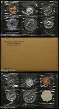1963 Proof Set With COA ~ Flat Pack Original Envelope ~ US Silver Mint Coin Set