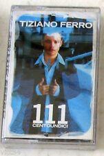 TIZIANO FERRO - 111 CENTOUNDICI - Musicassetta Sigillata MC K7