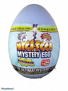 "Mega-Egga Ultimate Surprise Giant Mystery Egg - Blue 15"" Jumbo Mega-Egga - NEW"