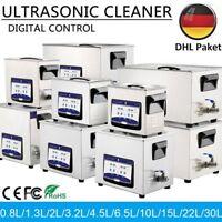 0.8ML-30L Prof. Numérique Nettoyeur à Ultrason Cleaner transducteur chauffage