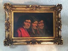 Romana Arregui Spanish French 1875-1932 Oil on Canvas Signed Listed Figures Art