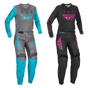 2021 Fly Racing F-16 Women's Motocross Gear Combination - MX SX ATV Off-Road Fly