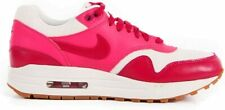 Original Women's Nike Air Max 1 Vintage Pink White Trainers 555284 104