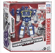Transformers War for Cybertron Walmart exclusive Netflix Soundwave BRAND NEW