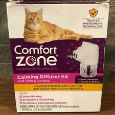 New listing Comfort Zone Calming Diffuser Kit for Cats & Kittens