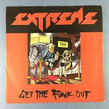 Extreme - Get The Funk Out / Li'l Jack Horny - A&M AM-737 Ex+ Condition