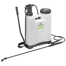 4 Gallon Backpack Pesticide/Fertilizer Garden Sprayer with 4 Nozzles FREE FEDEX