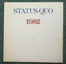Status Quo – 1+9+8+2 = XX. (1982 vinyl LP) near MINT