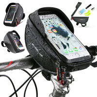 Waterproof Bicycle Bike Mount Mobile Phone Holder Case Frame Bag  Pouch  Cover