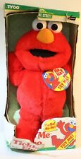 1996 Tyco Original Sesame Street Tickle Me Elmo Doll * STILL TALKS * IN BOX