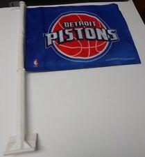 Detroit Pistons Car Flag.. Printed Both Sides.    #594