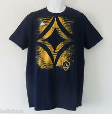 nwt~Adidas LA GALAXY GRAPHIC TEE Soccer Logo-Jersey USA Football Shirt~Mens sz L