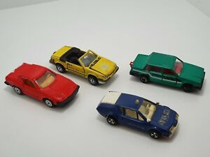 Majorette Vintage Triumph Mustang Volvo Alpine 1970s/ 1980s Made In France