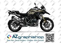 KIT ADESIVI BMW R 1250 BLACK STORM EXCLUSIVE VERSION STICKERS FS-R1250GS-G-E