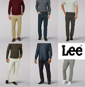 """Men's """"LEE"""" Extreme Comfort MVP Performance Series Straight Fit Trouser Pant"""