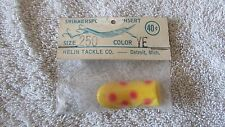 Vintage Helin's Swimmerspoon Fishing Lure Insert  - Size 250 - Color YE   (BA 1)