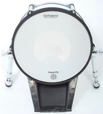 """Roland KD-140 14"""" White Electronic Bass Drum Trigger Pad"""
