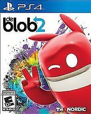 DE BLOB 2 Playstation 4 game NEW! Factory Sealed PS4