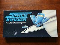 RARE SPACE TRADER BOARD GAME BY ABBEY GAMES RARE VINTAGE GAME DATED 1985