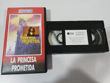 LA PRINCESA PROMETIDA VHS TAPE MARK KNOPFLER ROB REINER CASTELLANO