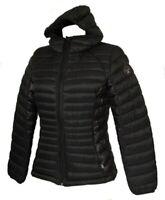 Piumino giubbotto giaccone giacca donna con cappuccio zip e tasche NAPAPIJRI art
