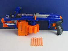 NERF N STRIKE ELITE HAIL FIRE motorised DART GUN SET LOT inc darts toy working