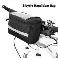 New Bike Handlebar Bag Bicycle Front Basket Outdoor Cycle Equipment Waterproof