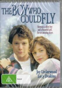 The Boy Who Could Fly DVD Jay Underwood New and Sealed Australia