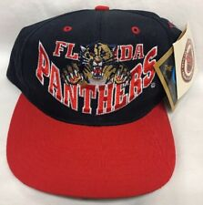 the best attitude dc2e8 41efc Vintage NWT 90s Florida Panthers Snapback Hat Cap by G-CAP NHL