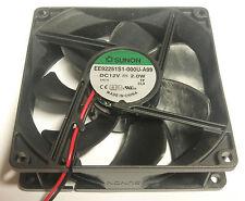 Sunon ventilador 92x92x25mm Ee92251s1-a99 DC 12V 87 47 M³/h