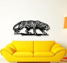 Wall Stickers Vinyl Decal Tiger Animal Predator Excellent Room Decor (ig704)