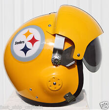 Pittsburgh Steelers Throwback Pilot Helmet USAF Football Collector Conner M L XL
