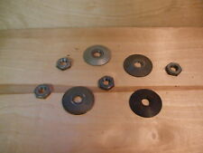 """CHEAP! Craftsman Radial Arm Saw 5/8"""" ARBOR Nut & 2  Blade washers, [COLLARS] FN"""