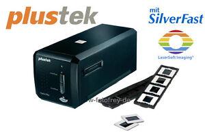 Plustek OpticFilm 8200i SE Scanner + SilverFast Software DIA NEGATIV SCANNER **