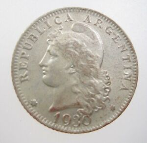 ARGENTINA 2 CENTAVOS 1891 SHARP 02# MONEY COIN