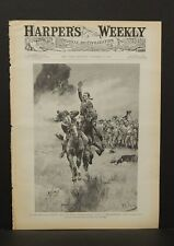Harper's Weekly Cover Pg  On Speed The Light Chestnut  1891 A9#16