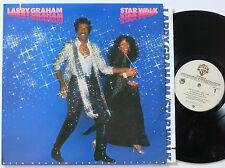 LARRY GRAHAM STAR WALK ORIG US WARNER BROTHERS FUNK LP VG++/MINT-