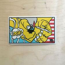 DGK skateboard vinyl sticker Dirty Ghetto Kids pop art smoke 420 marijuana weed