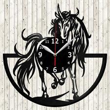 Unicorn Vinyl Record Wall Clock Decor Handmade 6827