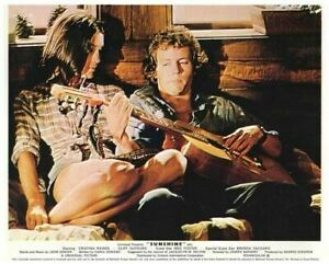 Sunshine Christina Raines DeYoung playing guitar Original Lobby Card 1973 film