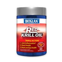 BIOGLAN RED KRILL OIL TRIPLE ACTION (60 SOFTGEL CAPS) - 500mg