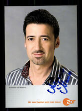 Antonio di Mauro ZDF Autogrammkarte Original Signiert # BC 86116