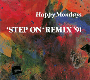 Happy Mondays : Step On Remix '91 (USA Digipak CD EP) **MINT** FREEUK24-HRPOST!!