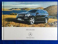 Prospekt Brochure Mercedes GL-Klasse X164 X 164 GL 320 420 CDI 450 500 4MATIC 07