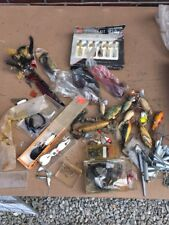 Vintage Baits collectible fishing lure Lot Some Rough Some Nice As Is