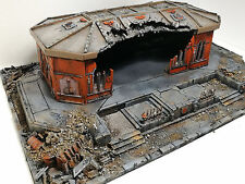 """WARHAMMER 40000 WAR GAME SCENERY """"REALM OF BATTLE CITYSCAPE""""  PRO PAINTED 40K"""
