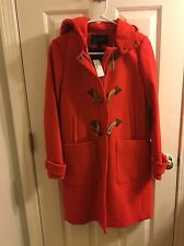 NWT J Crew CONVERTIBLE TOGGLE COAT Outerwear Brilliant Frame Size 0  JCrew $398