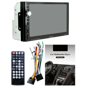 """2 DIN 7"""" HD Car Stereo Radio MP5 Player Bluetooth Touch Screen USB Video Unit"""