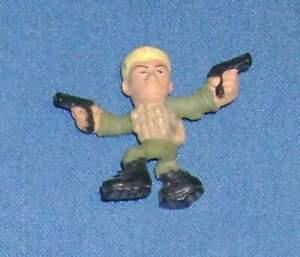 2013 GI Joe Micro Force figure DUKE V.1 figurine S1-03 no stand JTC