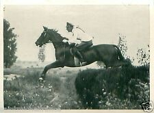 Rudolf Lippert on Fasan Germany Equestrian OLYMPIC GAMES 1936 CARD